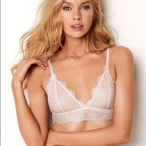 NWOT Victoria's Secret Lace Triangle Bralette